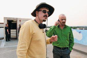 《絕命毒師》主創Vince Gilligan與「Walter」Bryan Cranston
