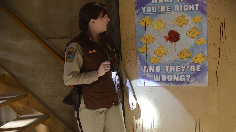 Molly Solverson與Lester的海報。